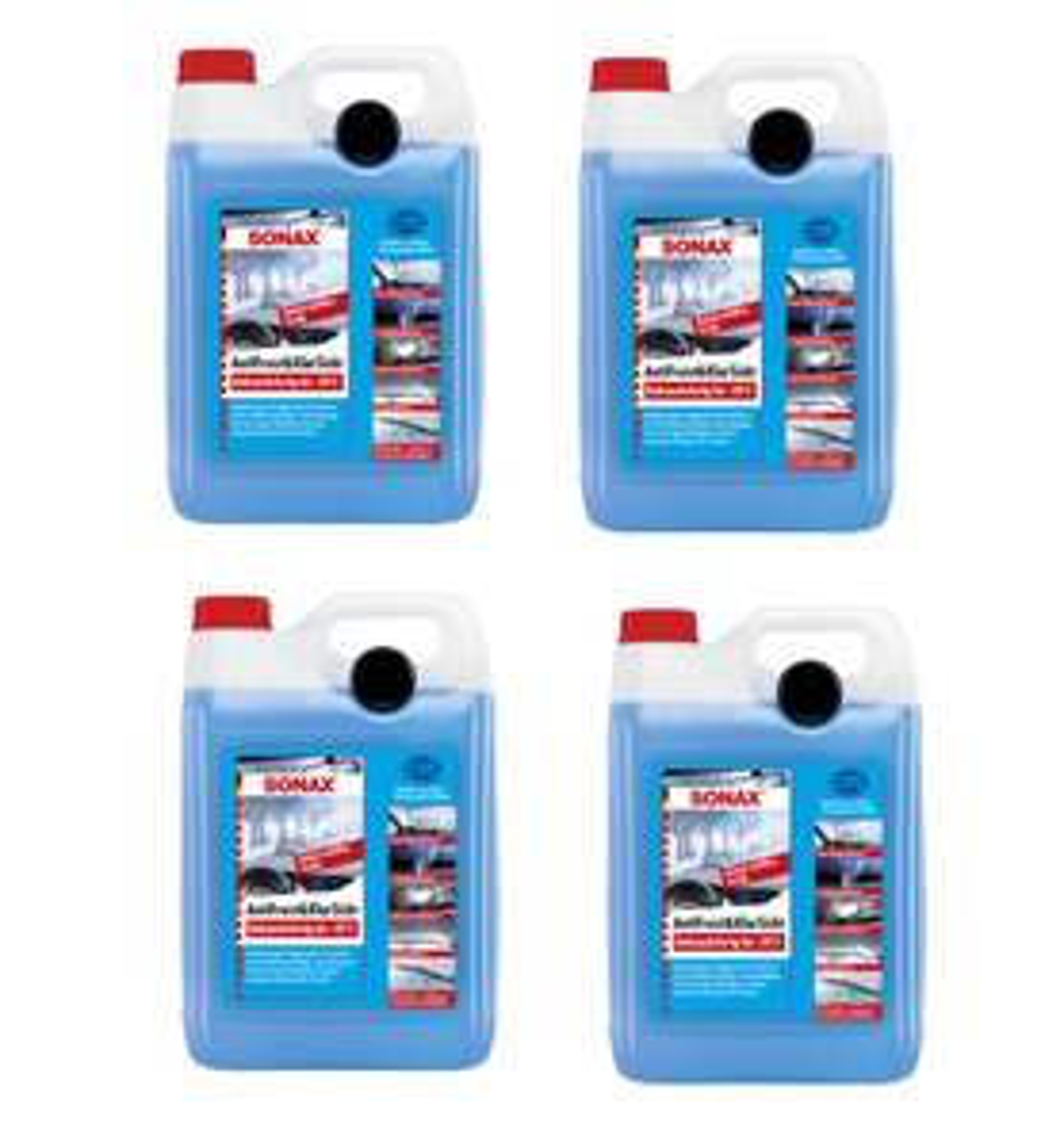 4 x 5 L SONAX AntiFrost&KlarSicht Gebrauchsfertig bis -20° C für 27,99€ oder IceFresh für 29,99€