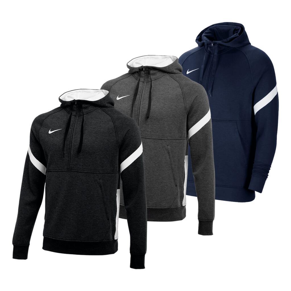 Nike Kapuzenpullover Strike Fleece 1/2-Zip in 3 Farben