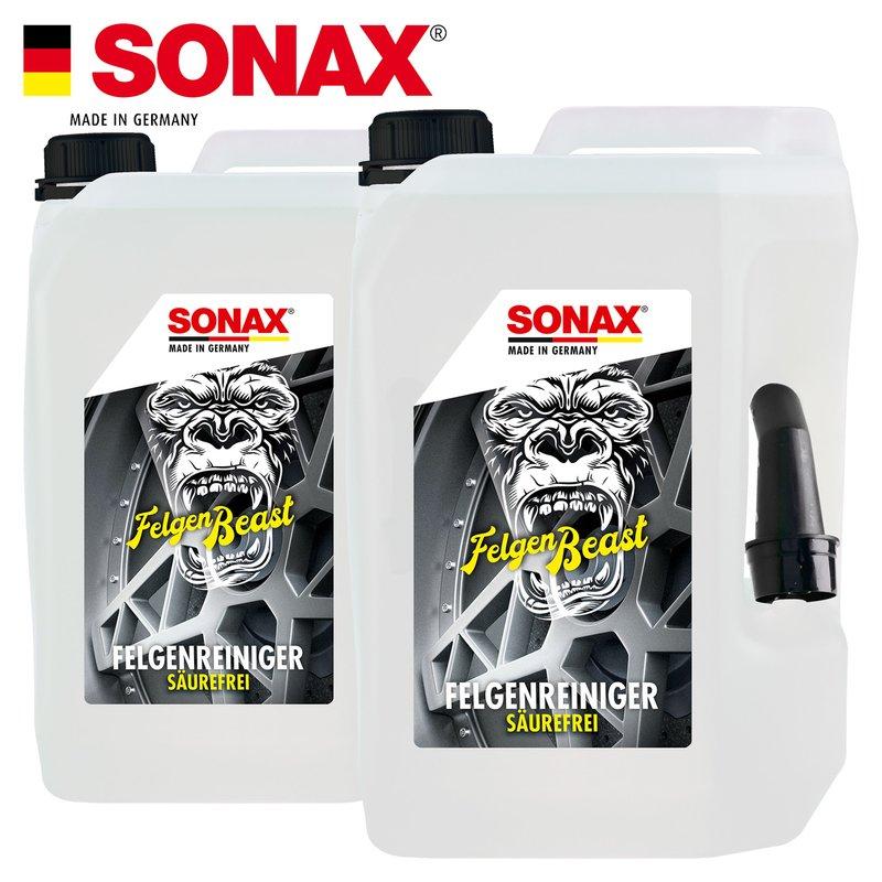 SONAX - FelgenBeast Felgenreiniger 2x 5L