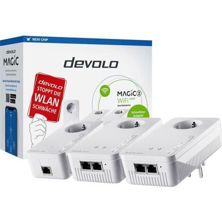 Devolo Magic 2 Powerline WLAN Multiroom Starter Kit 2.4 GBit/s [Voelkner]