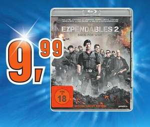 "[Lokal Offline] Saturn Oberhausen ""Expendables 2"" Blu-Ray (Special Uncut Edition)"