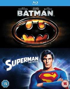 (inkl. Deutscher Tonspur) Batman & Superman Doppelfeature (2 x Blu-Ray) für 5,09€ @ Rarewaves