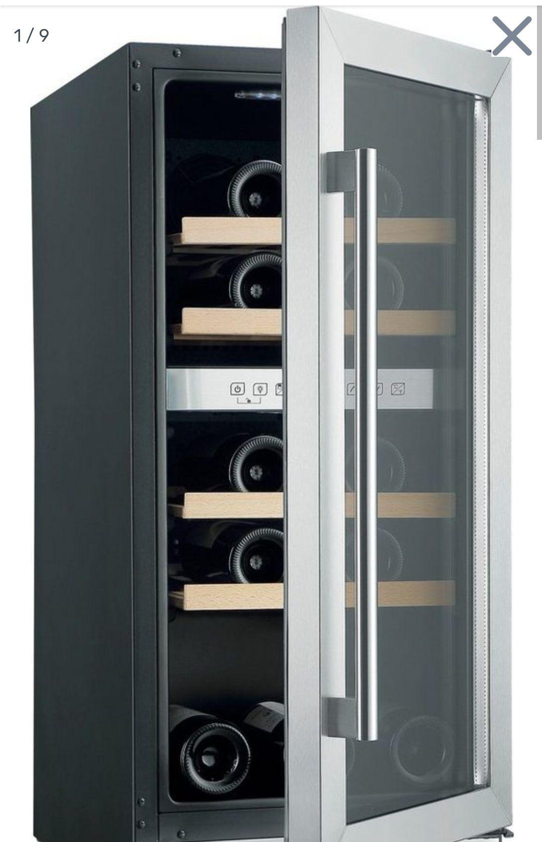 Hanseatic Weinkühlschrank HWC31GCIA, für 31 Standardflaschen á 0,75l,unterbaufähig