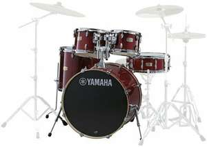 [musicstore.de][Bestpreis-Sammeldeal] Yamaha Stage Custom Birch ShellSet, Stage, Schlagzeug, Cranberry Red #CR