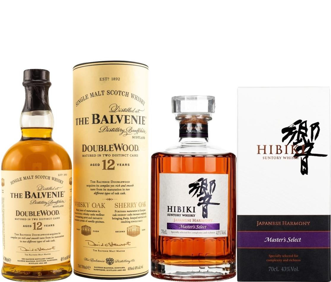 Whisky-Übersicht #67: 10% auf alle Spirituosen bei DealClub, z.B. The Balvenie Double Wood 12 Jahre für 37,79€ inkl. Versand