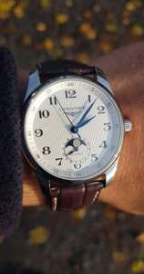 Longines Mondphase Automatikuhr - Longines Master Collection - 40mm - 62h Gangreserve - Swiss Made
