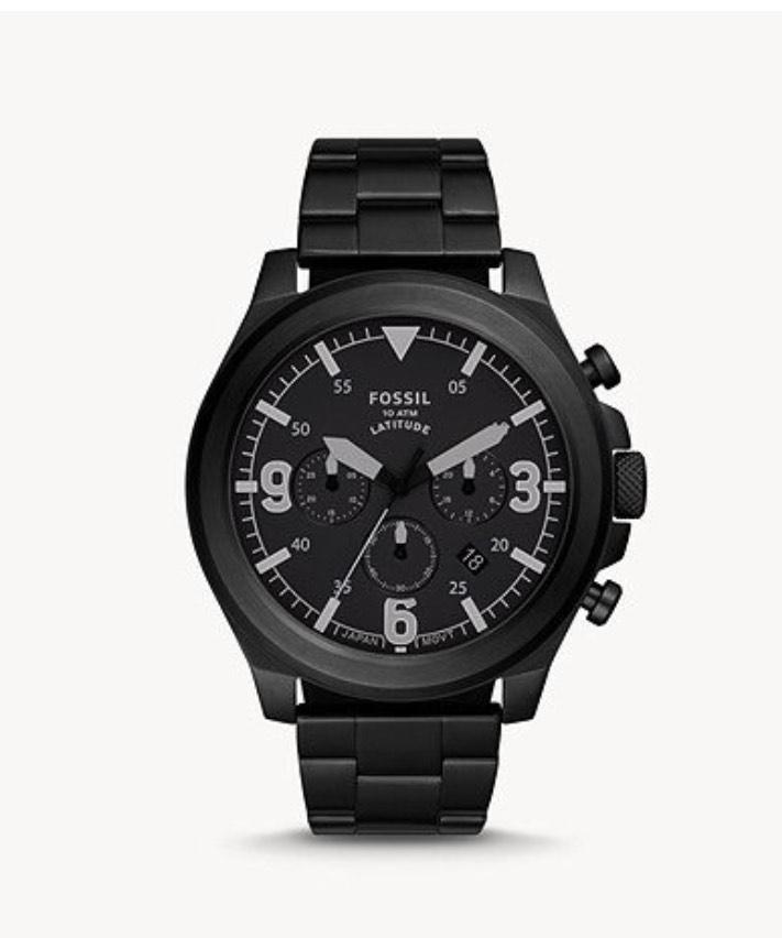 Fossil Uhr Chronograph Latitude in 3 Farben (FS5754) für 65,80€ inkl. Versand