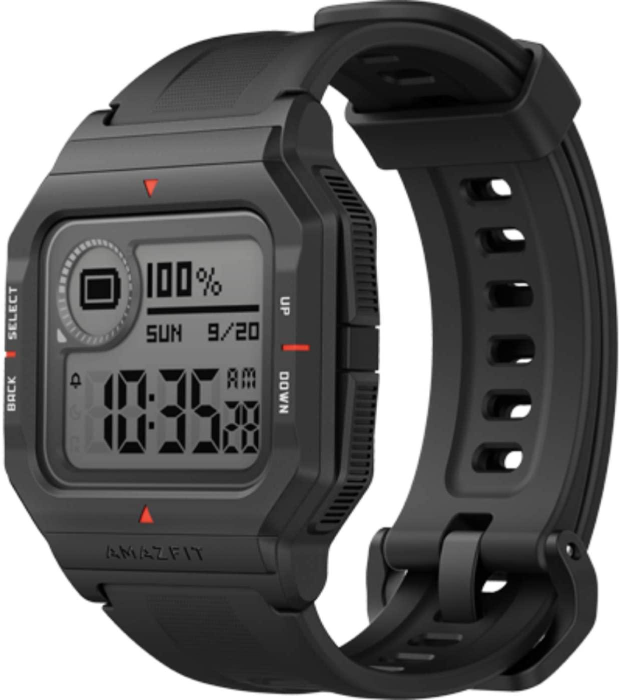 Amazfit Neo Retro-Look Digitaluhr mit smarten Zusatzfunktionen wie Schrittzähler etc., ab 28.01. [ALDI-NORD]