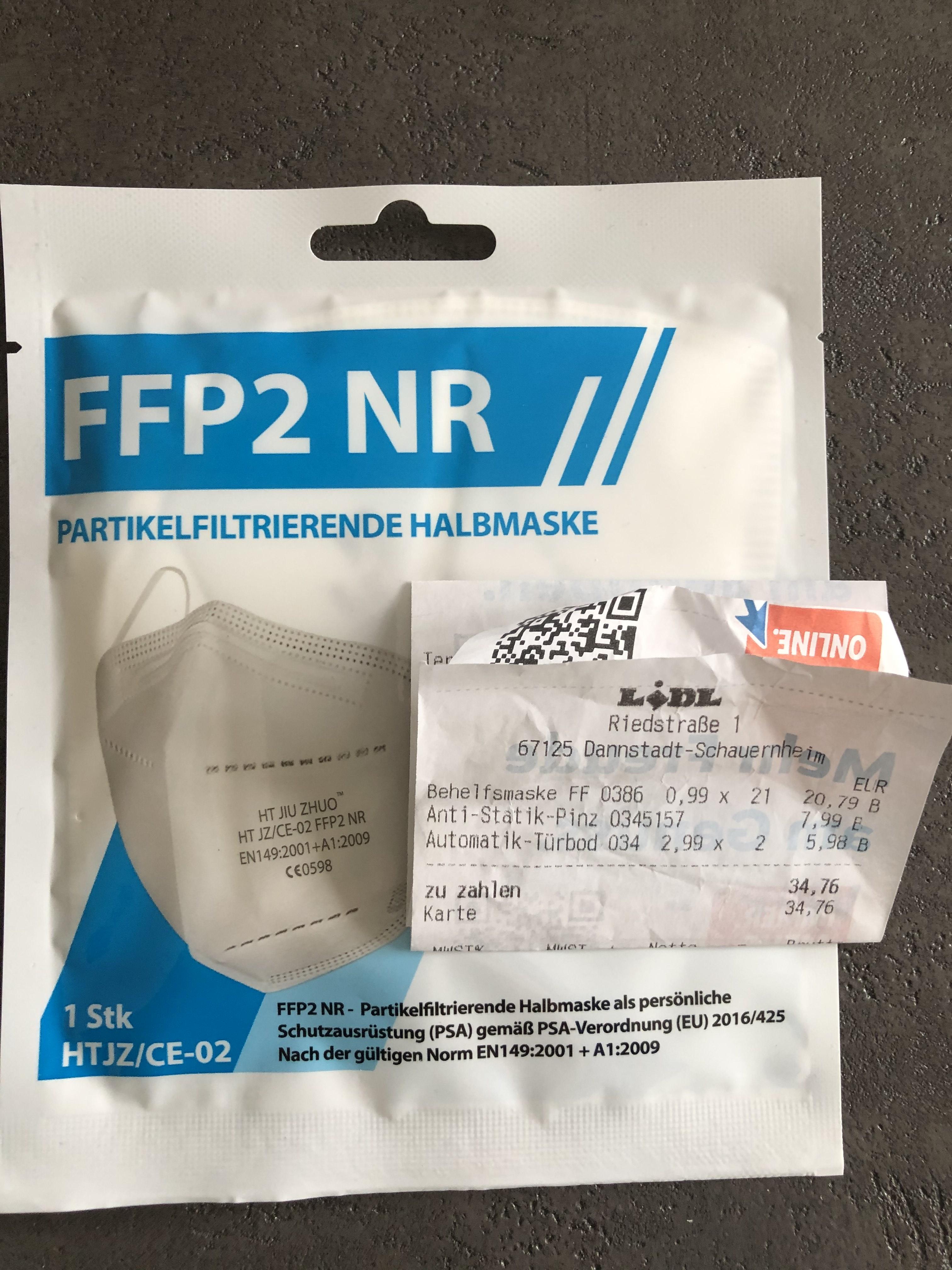 FFP2 Masken mit CE Zertifizierung - Nachschub vorhanden