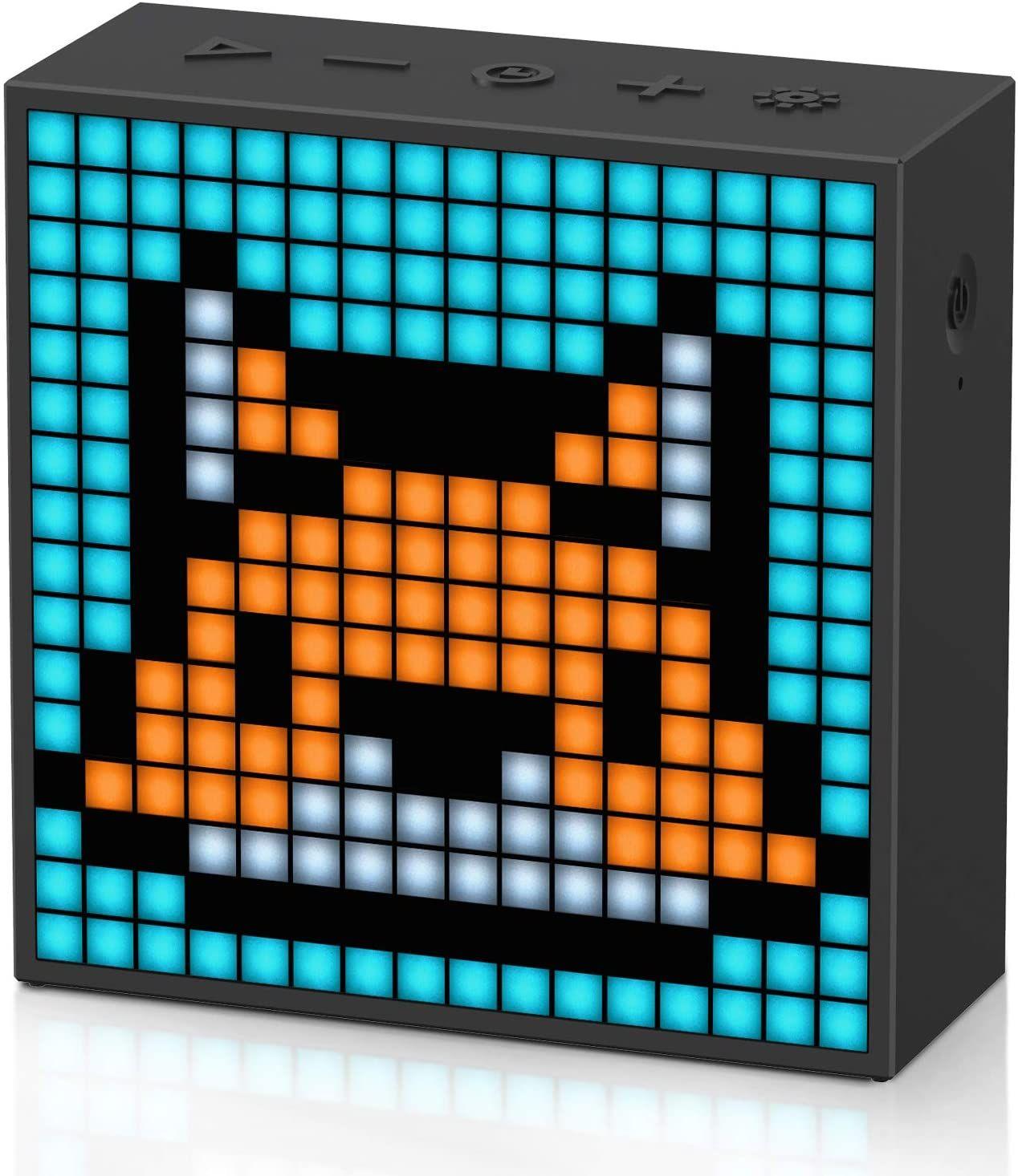 [Amazon] Divoom Timebox-Evo Pixel Art Bluetooth Lautsprecher