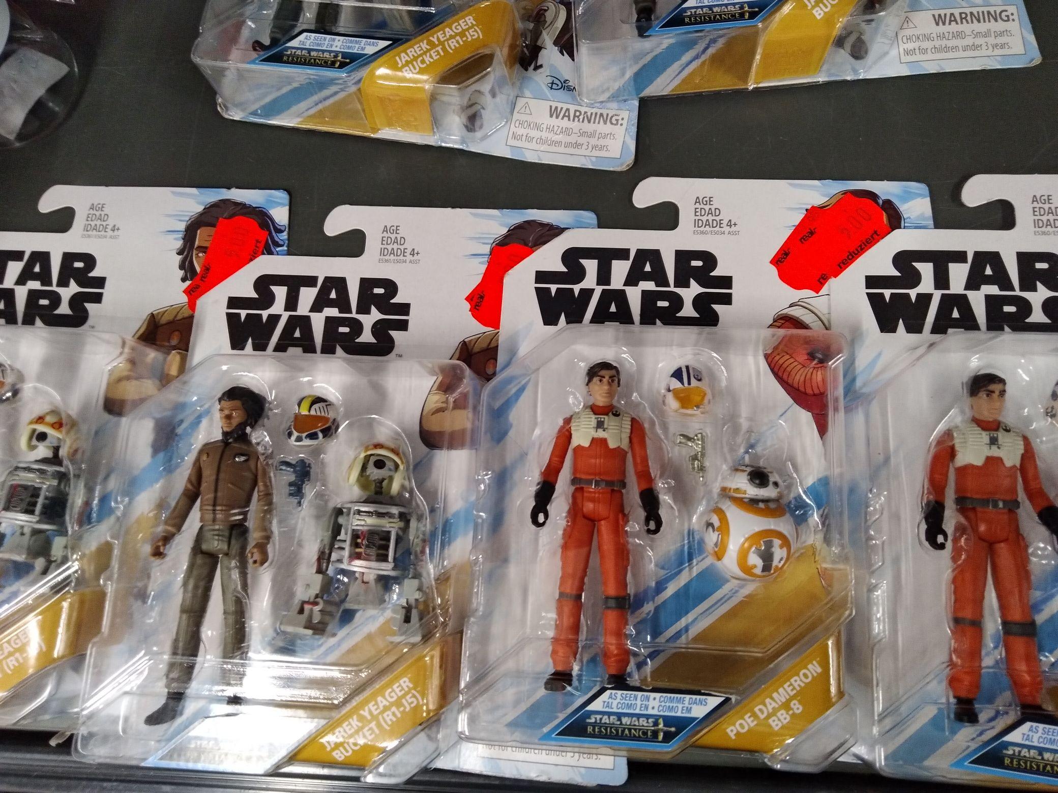 (Real Ratingen) Star Wars Resistance Figuren zwischen 3€-5€ (Lokal Ratingen)
