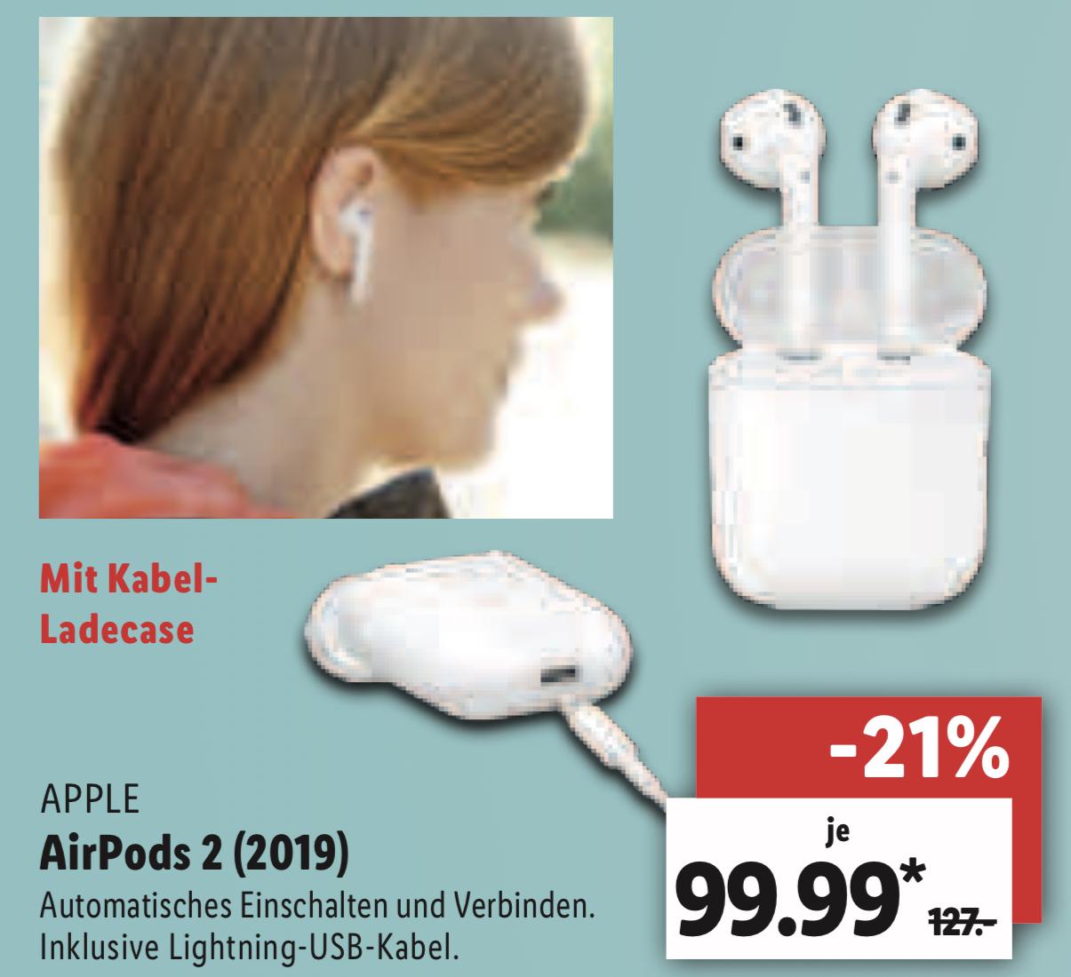 Lidl Hamburg Behringstraße: Apple Airpods 2 für 94,99€ / Dyson V8 Parquet Akku Handstaubsauger für 244€ / auch in Waiblingen BaWü