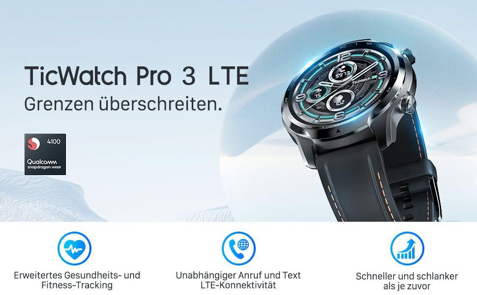 [Amazon] Ticwatch Pro 3 LTE Smartwatch