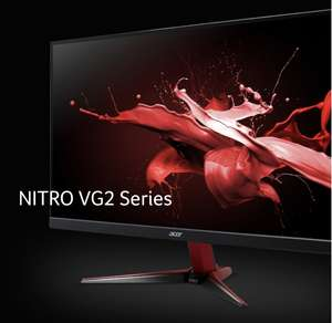 Acer Nitro VG2 Gaming-Monitor 165Hz, 23,8Zoll, IPS-Panel, Kein richtiges G-SYNC aber tut so als ob