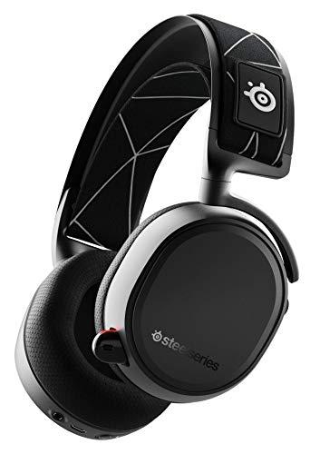 SteelSeries Arctis 9 Wireless - Over-Ear Gaming-Headset (Bluetooth & 2,4 GHz, Klinke, 20h Akku, für PC, Playstation & Nintendo Switch)