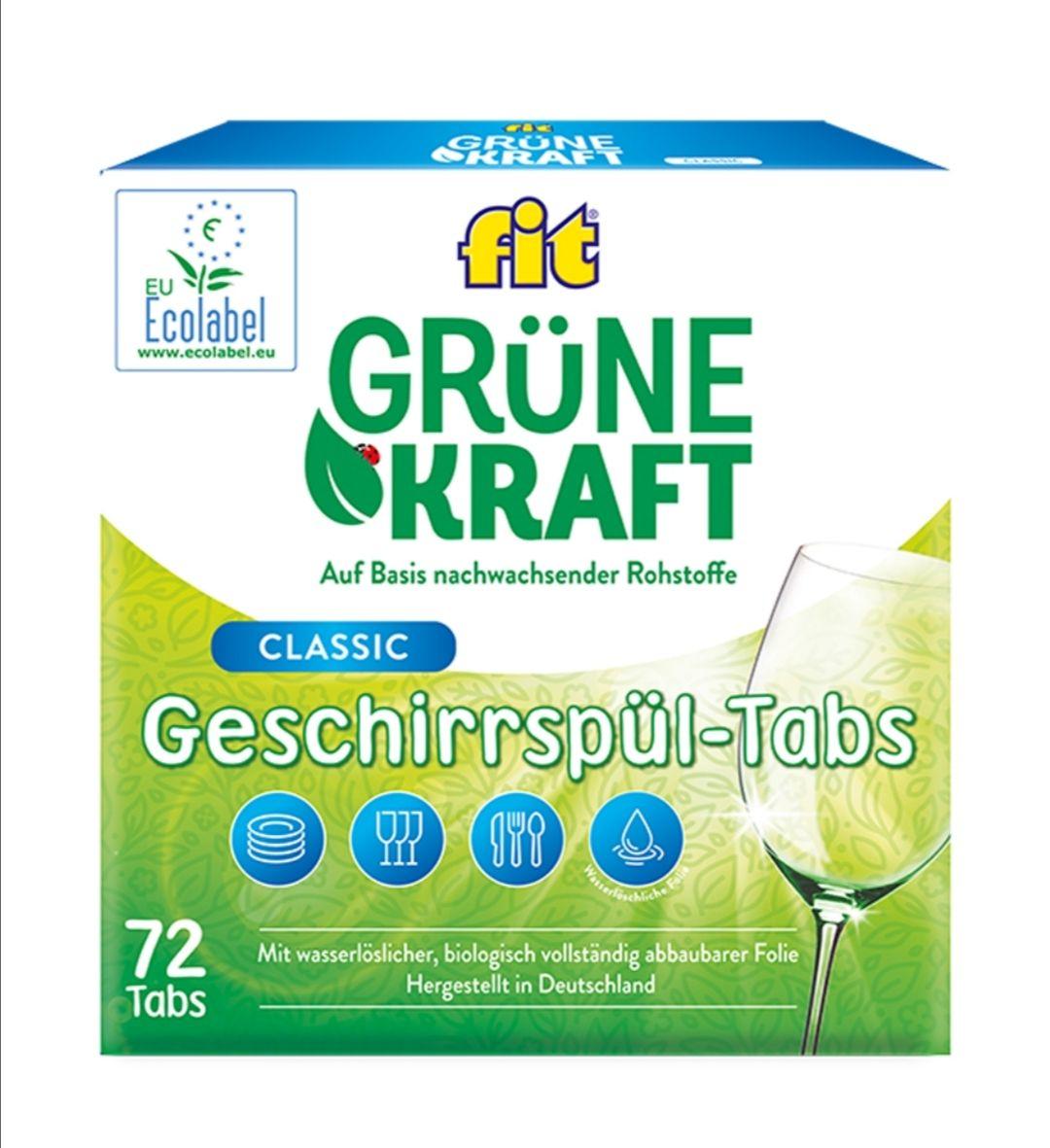 fit Grüne Kraft Classic Tabs