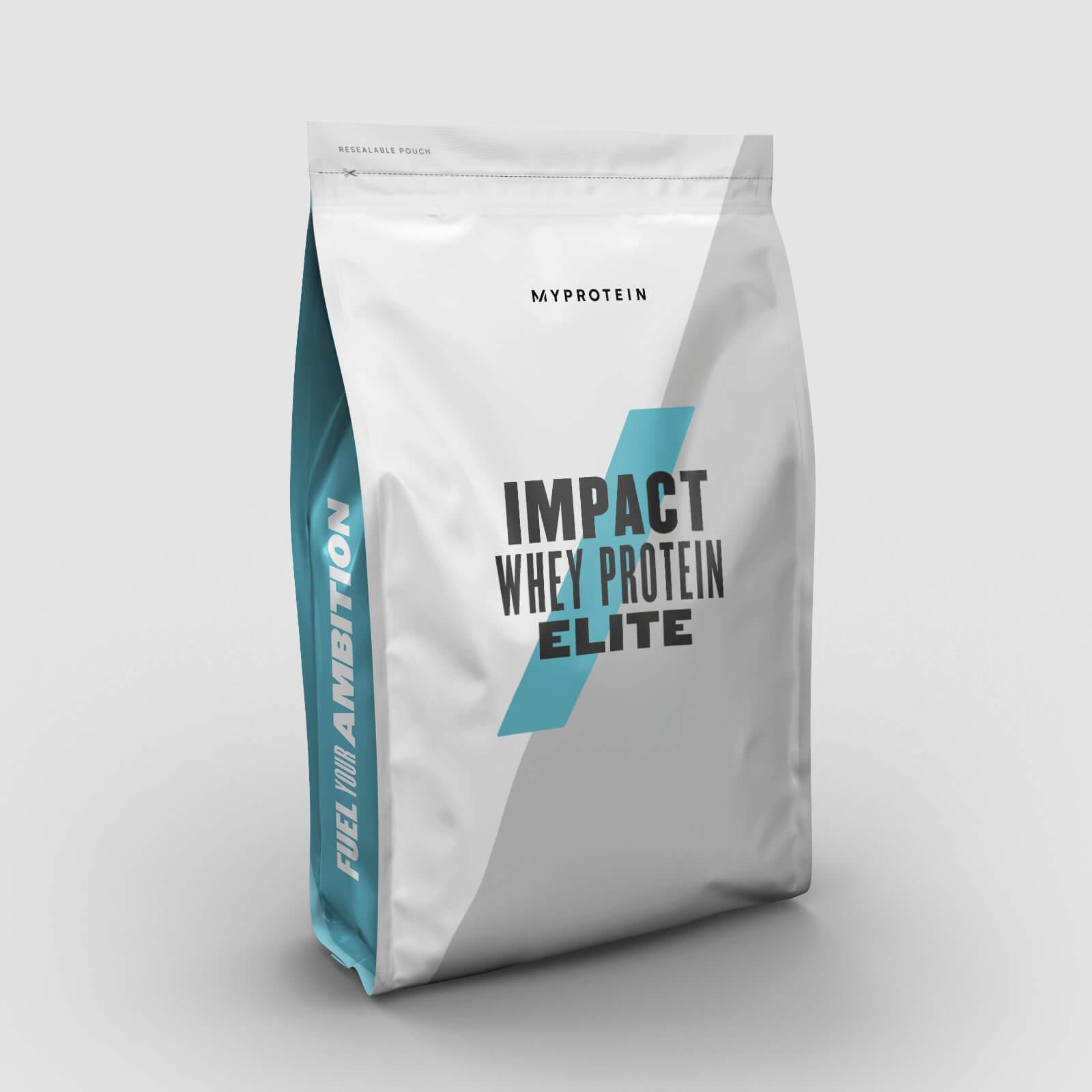 60% auf ausgewählte Produkte bei Myprotein: z.B. 2.5kg Impact Whey Elite Protein für 18,79€ (+ 3,99€ VSK unter 50€)