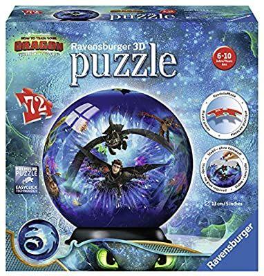 Ravensburger 3D Puzzle 11144 - Dragons 3 - 72 Teile [Prime]
