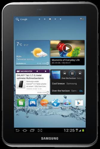 Samsung Galaxy Tab 2 16GB WiFi-Variante - wie neu - nur 174,60€ bei Reichelt inkl. Versand