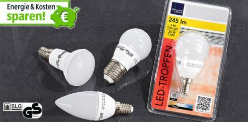 LED- Leuchtmittel  Aldi Süd ab Donnerstag