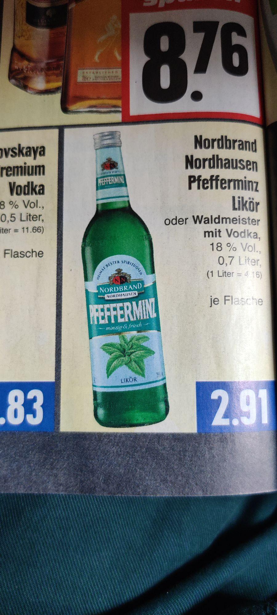 Pfeffi Nordbrand Pfefferminz Likör | Edeka Offline
