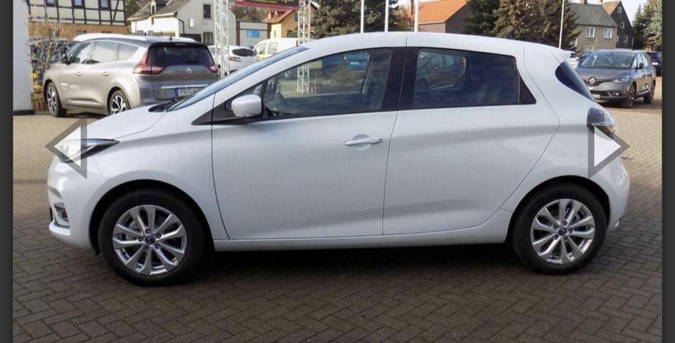 Privat/Gewerbe Leasing Renault Zoe Life 69€/Monat mit Bafa 6100€ Anz. Batteriekauf