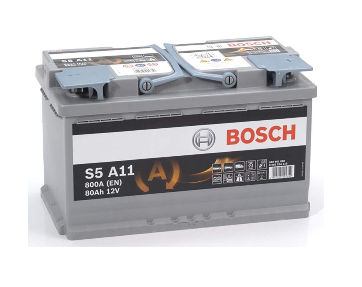 BOSCH Auto-Batterie AGM 12 V 80 Ah 800 A B13 0092S5A110 für 107,50€ [Dealclub]