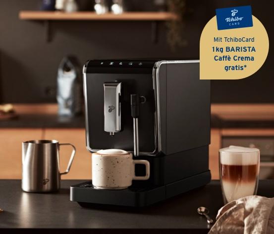 """Tchibo Kaffeevollautomat »Esperto Latte«+1KG Kaffeebohnen """"Crema"""" mit Newslettercode"""