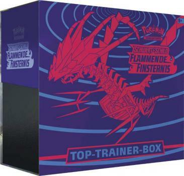 Pokemon Top Trainer Box Flammende Finsternis SSH03