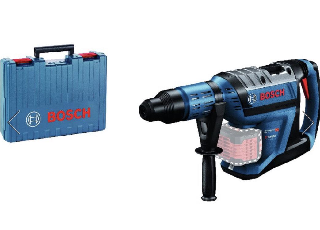 Bosch Professional - Akku-Bohrhammer BITURBO GBH 18V-45C, solo