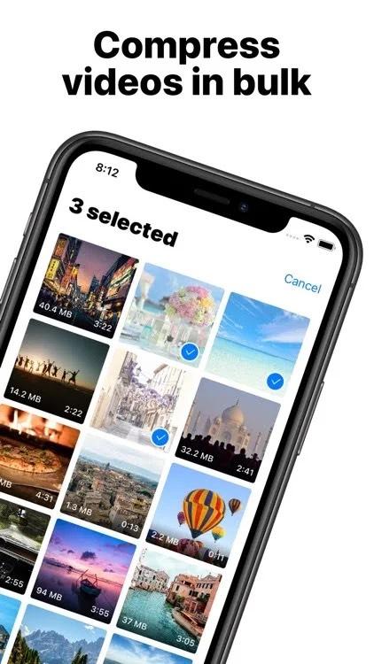 Video Komprimierer express / iOS App