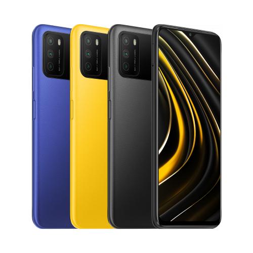 Xiaomi POCO M3 4 GB + 128 GB 48 MP Triple-Kamera 6000 mAh Akku