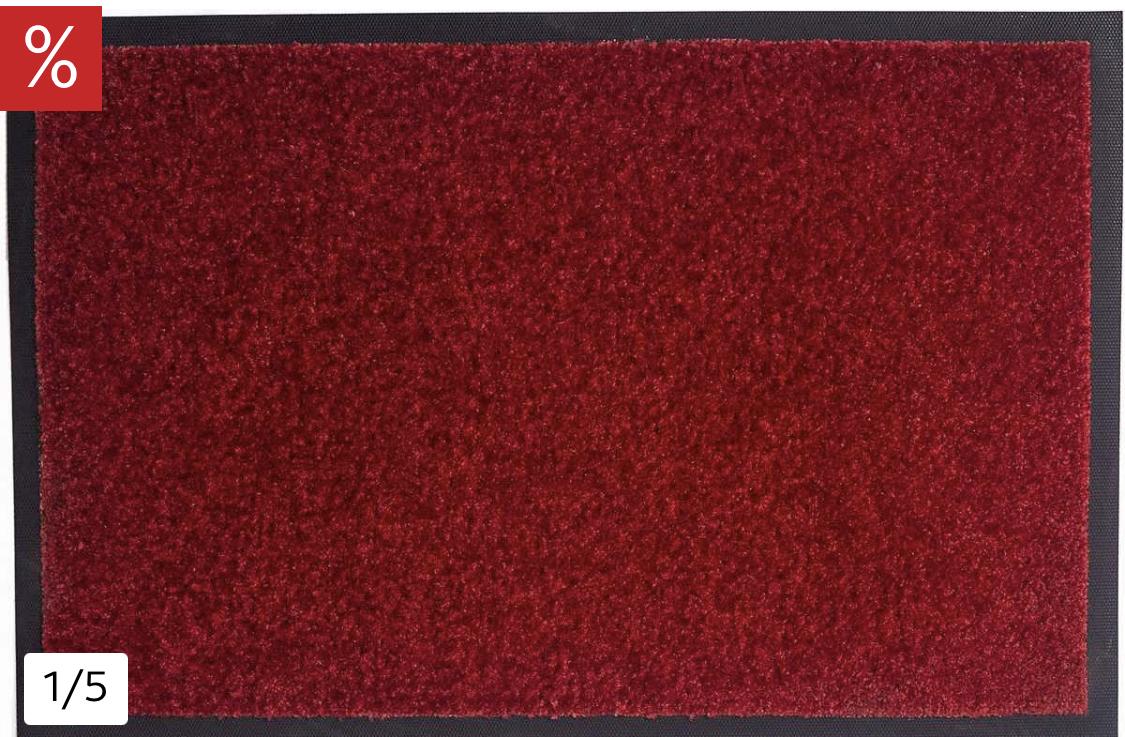 (Otto) 2 Stück der Fußmatte Mette von my home, verschiedene Farben (pro Stück 4,79€)