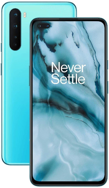 "OnePlus Nord 5G 6,4"" AMOLED FHD+ Dual-SIM Smartphone 12/256GB (4.115 mAh, Snapdragon 765, 312K AnTuTu, 48 MP Quad-Cam, NFC, USB-C, aptX)"
