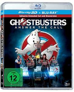 Ghostbusters (2016) [3D Blu-ray] [Extended Edition] (Amazon Prime)