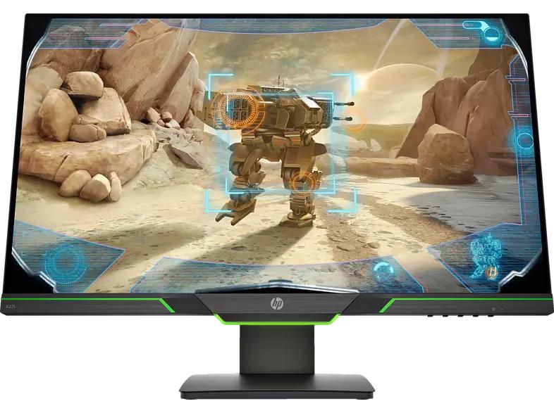 "HP X27i - 27"" WQHD IPS 144Hz Monitor (350cd/m², 4ms, AMD FreeSync Premium, ergonomisch, VESA)"