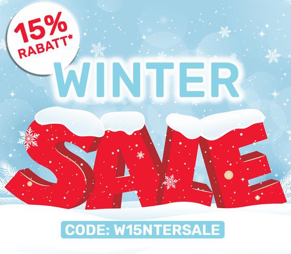 15% Winter-Rabatt* auf Artikel aus den Sortimenten Einrichtung, Mode und Baumarkt