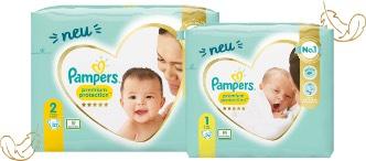 [GzG] Pampers Premium Protection Gr. 0/1/2 gratis testen (nur bei dm!)