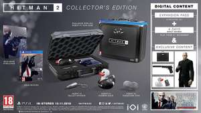 Hitman 2 Collector Edition PS4 (Spanische Version)