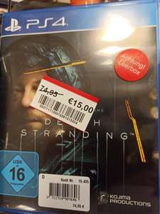 Lokal Real Viersen - Death Stranding 15€ & Detroit become human 5€ PS4