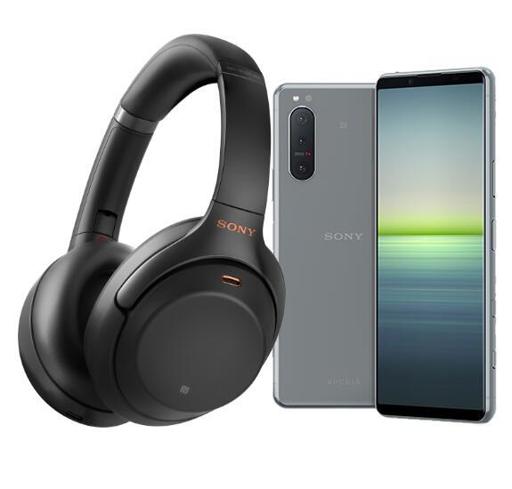 Sony Xperia 5 II inkl. WH-1000XM3 Noise Cancelling-Kopfhörer