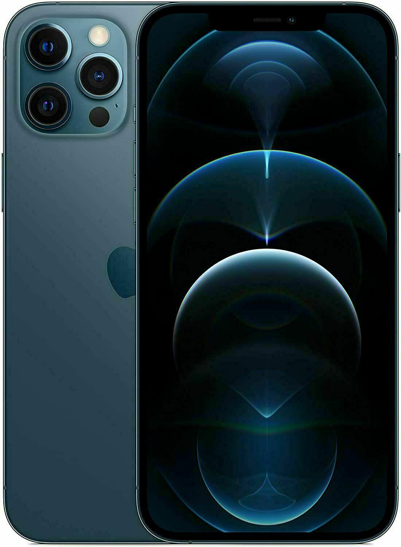 Apple iPhone 12 Pro Max 256 GB Pazifikblau mit Payback 10fach (personalisiert)