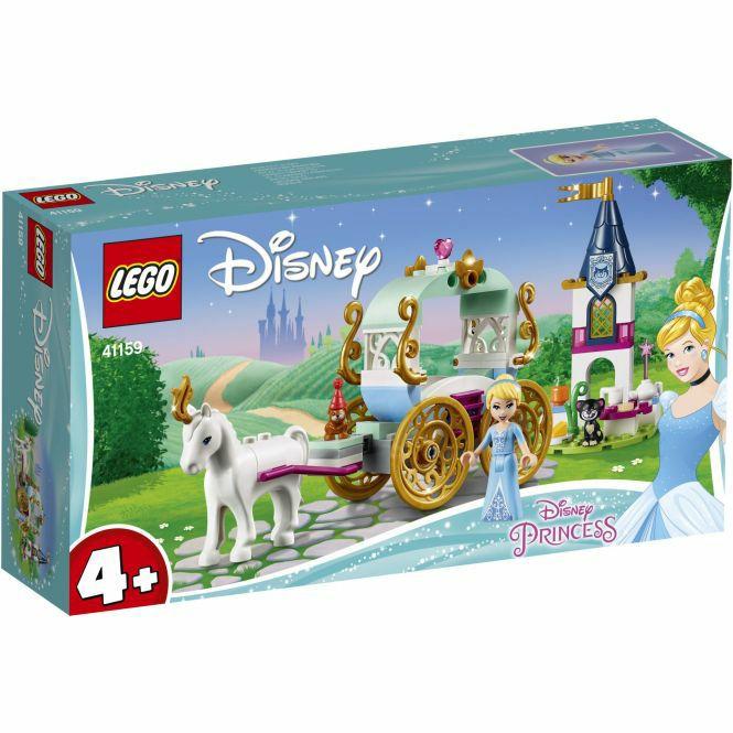 [mifus.de] LEGO® Disney Princess (TM) 41159 - Cinderellas Kutsche, 91 Teile und weitere