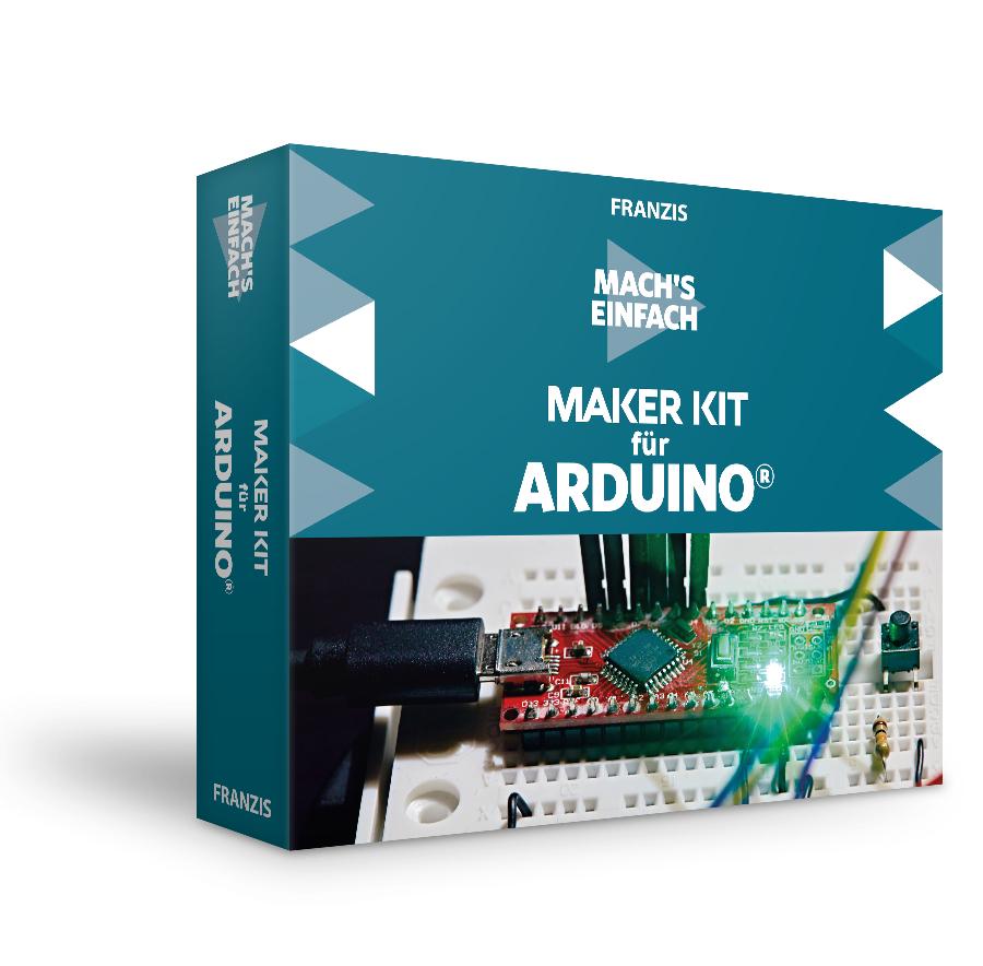 Franzis Maker Kit für Arduino® - Mach's einfach