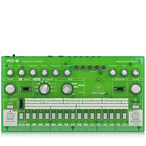 Behringer RD-6-LM Drum Machine Farbe Lime [Amazon - Derzeit nicht auf Lager]