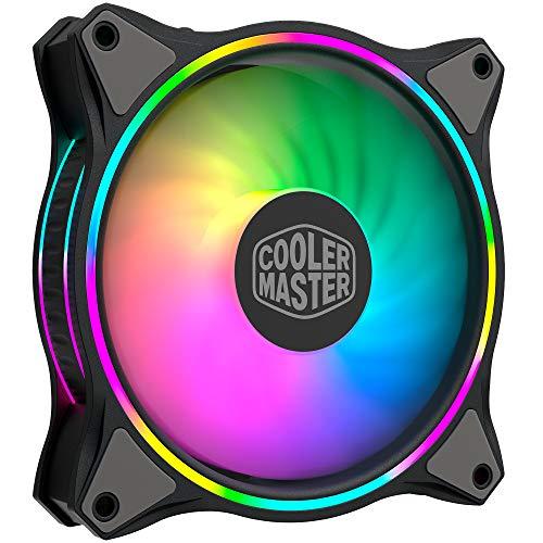 RGB-Lüfter CoolerMaster MF120 HALO im 3er Pack mit Zubehör