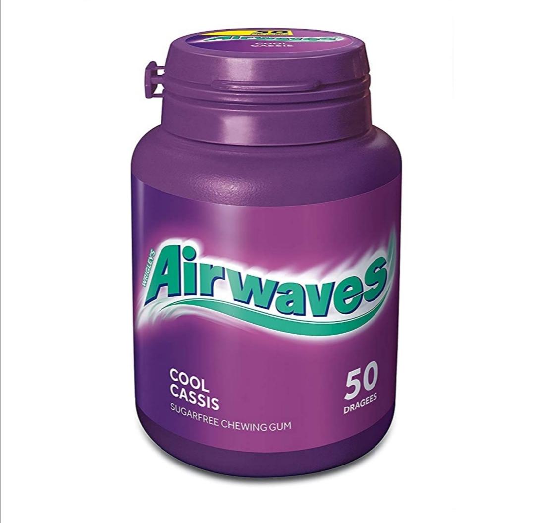 [Rossmann] Airwaves Cool Cassis & Menthol Eucalyptus für 1,49€ - abzgl. 10% Coupon nur 1,35€