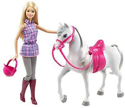[Amazon Prime][Alternate] Barbie DHB68 - Puppe und Pferd, Puppen Spielset mit abnehmbaren Zubehör, nur noch bei Alternate jetzt 14,99€