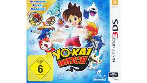 (Müller) Nintendo 3DS Yo-Kai Watch Special Edition inkl. Medaille (evtl 2,70€)