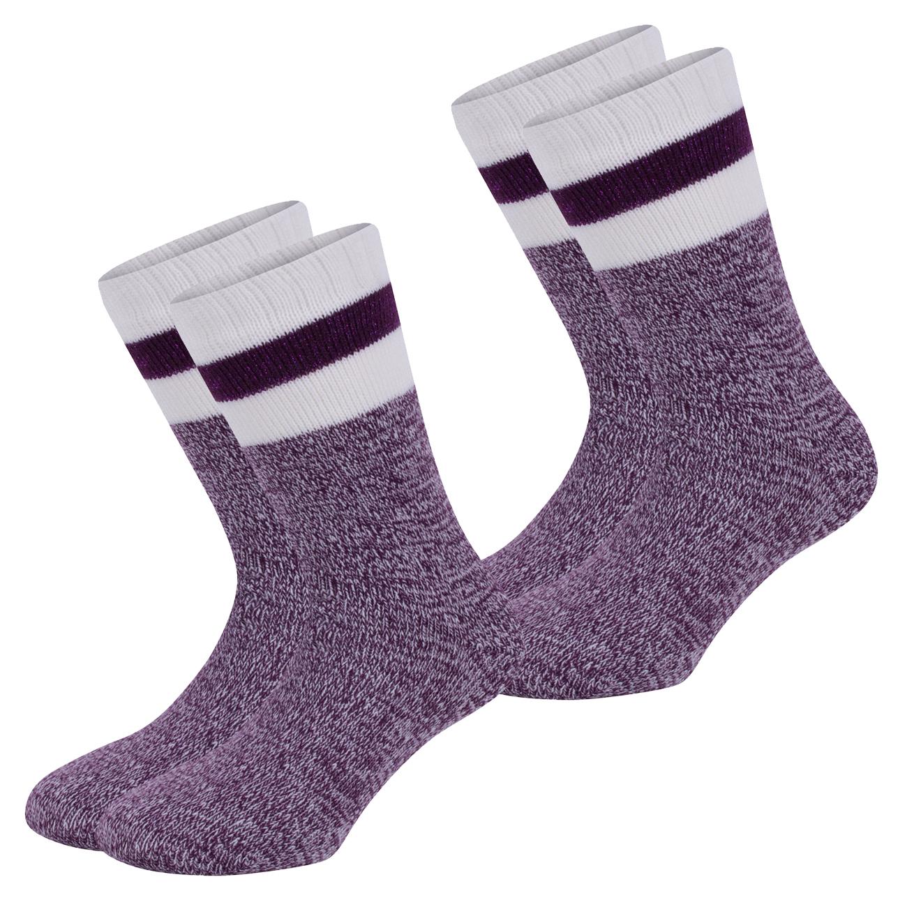 s.Oliver warme Damensocken ABS Home-und Hygge-Socks 2er Pack - verschiedene Farben.